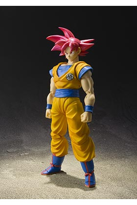 SUPER SAIYAN GOD SON GOKU FIGURA 14 CM DRAGON BALL SUPER SH FIGUARTS