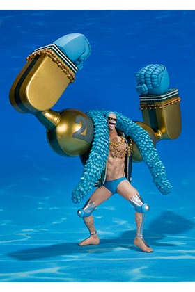 FRANKY 20TH ANIVERSARY VER REPLICA 26,5 CM ONE PIECE FIGUARTS ZERO