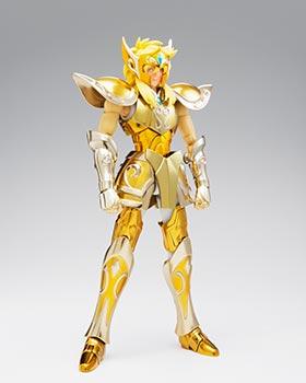 HYOGA ARMADURA ORO ACUARIO FIGURA 18 CM SAINT SEIYA MYTH CLOTH EX