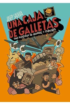 UNA CAJA DE GALLETAS.  UNA HISTORIA DE GUERRAS Y DIBUJOS