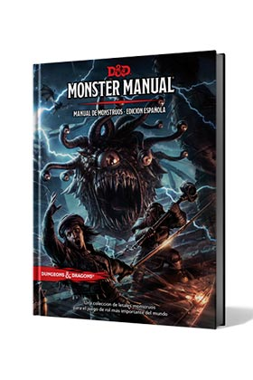 DUNGEONS & DRAGONS: MONSTER MANUAL - MANUAL DE MONSTRUOS EDICION ESPAÑOLA