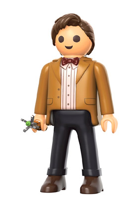 11 TH DOCTOR FIGURA 15 CM PLAYMOBIL DOCTOR WHO