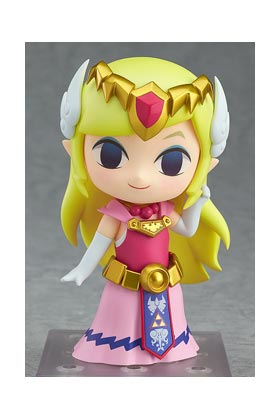 PRINCESS ZELDA FIGURA 10 CM ZELDA THE WIND WAKER NENDOROID