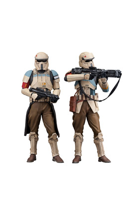 SCARIF STORMTROOPER PACK 2 FIGURAS 18 CM STAR WARS ROGUE ONE ARTFX+