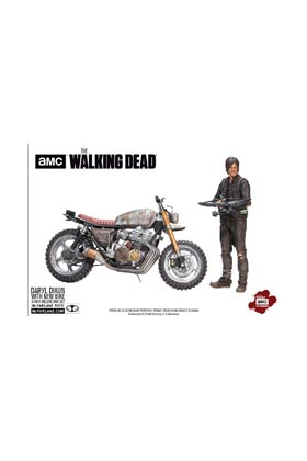 DARYL DIXON NUEVA MOTO TEMPORADA 5 FIGURA 13 CM THE WALKING DEAD TV VERSION
