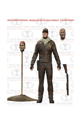 SHANE FIGURA 15 CM (COMIC VERSION) THE WALKING DEAD SERIES 5