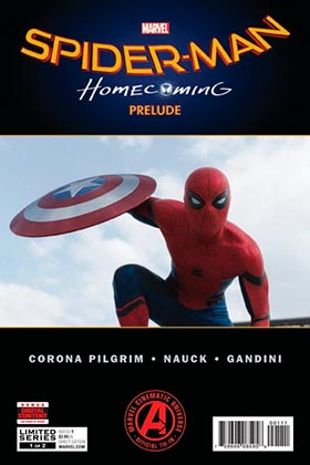 MARVEL CINEMATIC COLLECTION 01. SPIDER-MAN: HOMECOMING