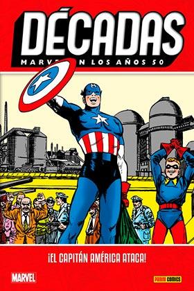 MARVEL EN LOS AÑOS 50. ¡EL CAPITAN AMERICA ATACA!