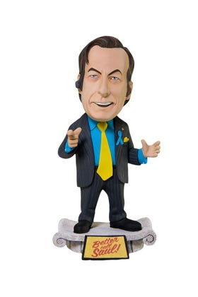SAUL GOODMAN CABEZON FIGURA 15 CM BREAKING BAD