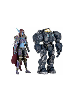 HEROES OF THE STORM SURTIDO 8 FIGURAS 18 CM SERIE 3 HEROES OF THE STORM