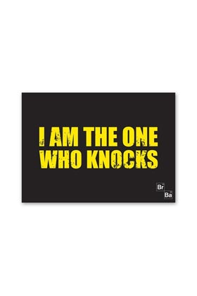 I AM THE ONE WHO KNOCKS ALFOMBRA BREAKING BAD 70x50 CM