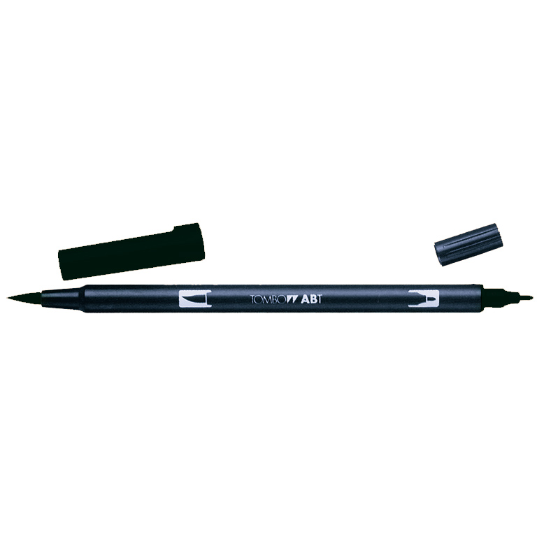 DUAL BRUSH-N15 ROTULADOR PINCEL COLOR BLACK