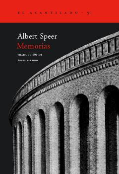 MEMORIAS ALBERT SPEER  AC-51
