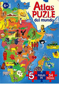 Atlas puzle del mundo