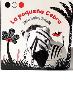 La pequeña cebra (libro de marionetas de dedo)