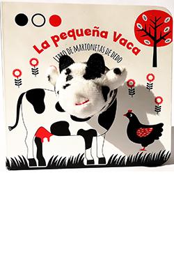 La pequeña vaca (libro de marionetas de dedo)